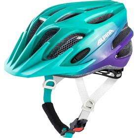 Alpina FB 2.0 Flash Helmet Junior smaragd-violet